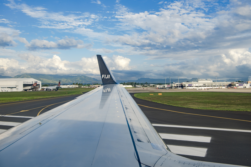 Nadi Airport is a hub for Fiji Airways and Fiji Link.